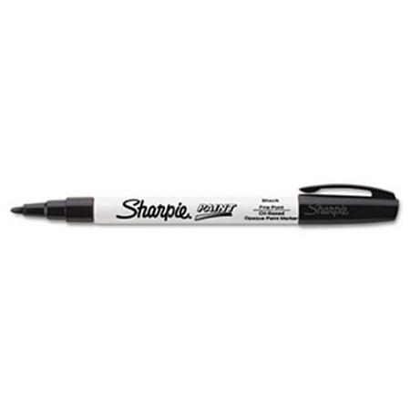 Sanford Ink Company 35534 Permanent Paint Marker, Fine Point, Black