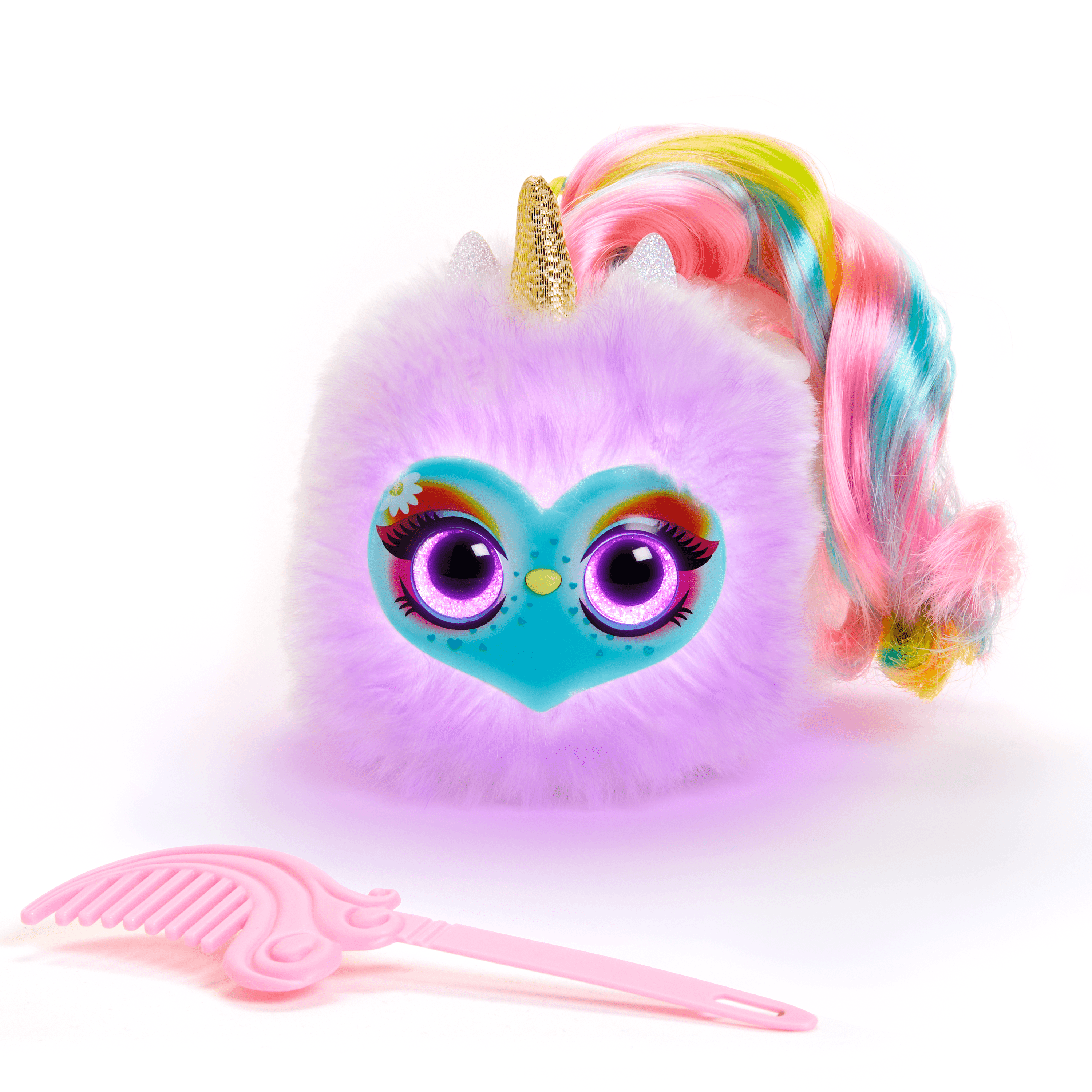 Pomsies Lumies Sparkle Rush - Interactive Electronic Plush