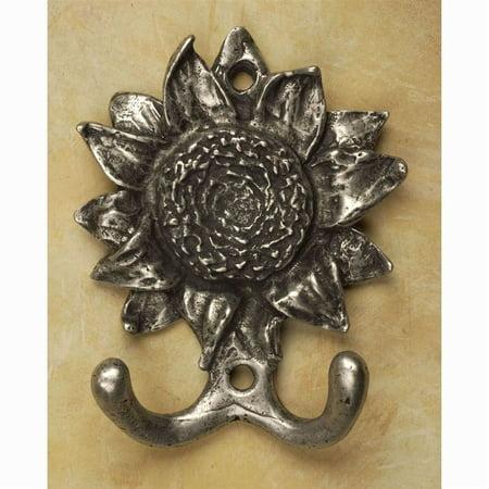 Sunflower hook hook Antique Bronze