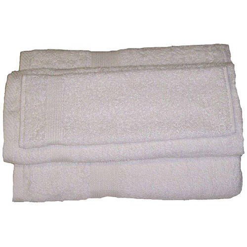 Revere Mills Rhapsody Cotton RingSpun Towel Set, 3-Piece