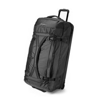 Eddie Bauer Unisex-Adult Expedition Drop Bottom Rolling Duffel - Extra Large