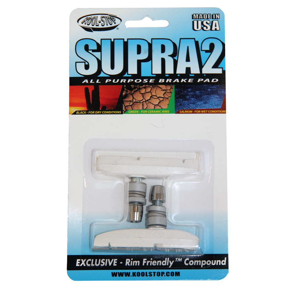 Kool-Stop Supra2 Brake Pads Salmon Compound