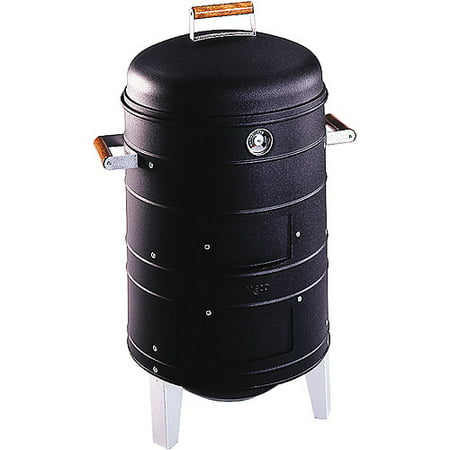 Americana Charcoal Water Smoker with 2 Levels Of Cooking
