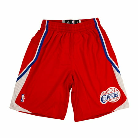 Los Angeles Clippers NBA Adidas Black Authentic On-Court Climacool Team Game Shorts For Men