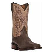 Dan Post Men's C C Brown and Chocolate Matheson Western Boots DP3951