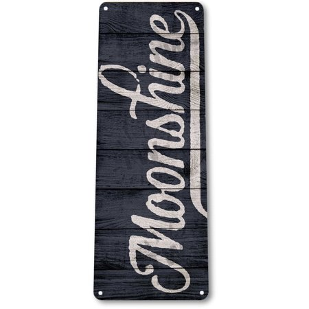 TIN SIGN B783 Moonshine Beer Liquor Whiskey Bourbon Rustic Metal Decor, By (Liquor Sign)