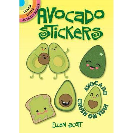 Avocado Stickers - Little Alligator