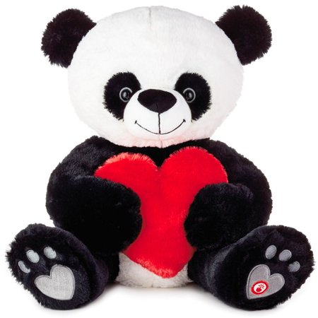 Hallmark Bear Hugs Panda Cub Musical Stuffed Animal, 11