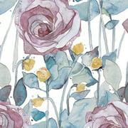 """Craft Consortium Decoupage Papers 13.75""""X15.75"""" 3/Pkg-Dark Rose White"""