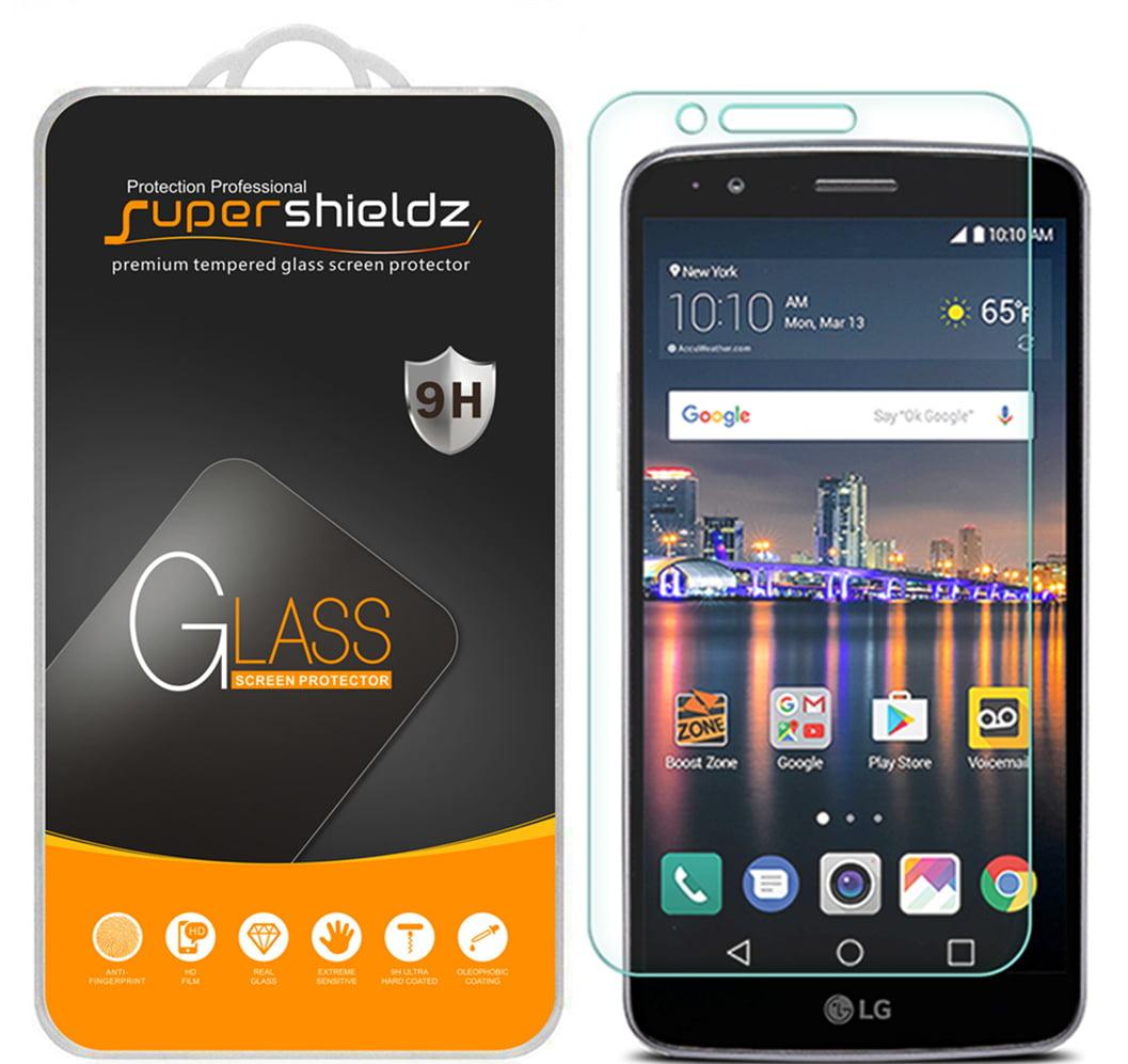 [1-Pack] Supershieldz for LG Stylo 3 / LG Stylus 3 Tempered Glass Screen  Protector, Anti-Scratch, Anti-Fingerprint, Bubble Free