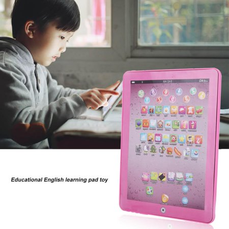 Tablet Pad Toy,Ymiko Kids Children Tablet Pad Electronic Preschool English Learning  Educational Teach Toy, English Learning Pad Toy