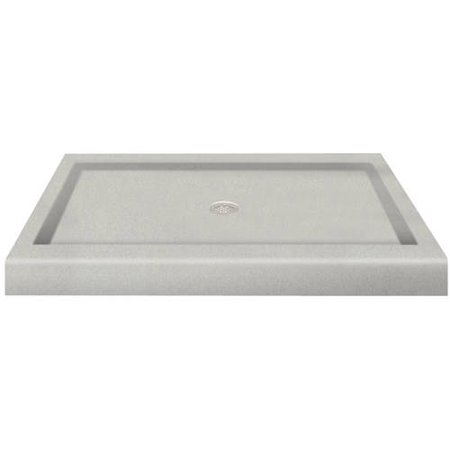 Transolid 48 X 34 Decor Solid Surface Shower Base