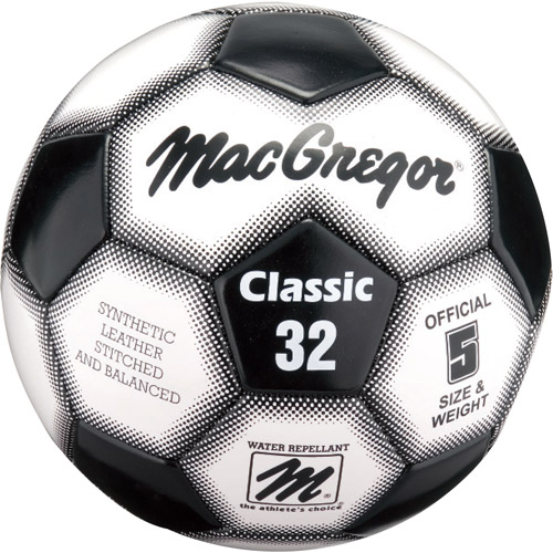 MacGregor Classic Soccer Ball, Size 4