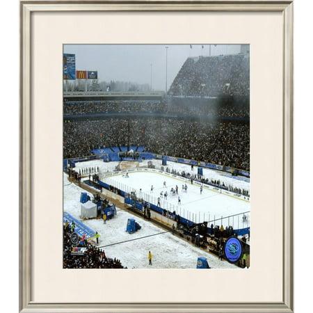 Ralph Wilson Stadium Framed Photographic Print Wall Art  - 32x28