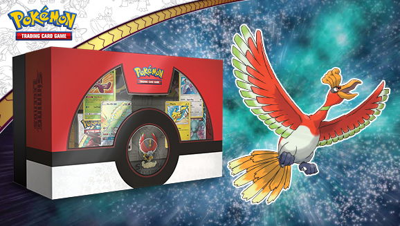 Pokemon TCG: Shining Legends Super Premium Ho-Oh Collection by POKEMONUSA