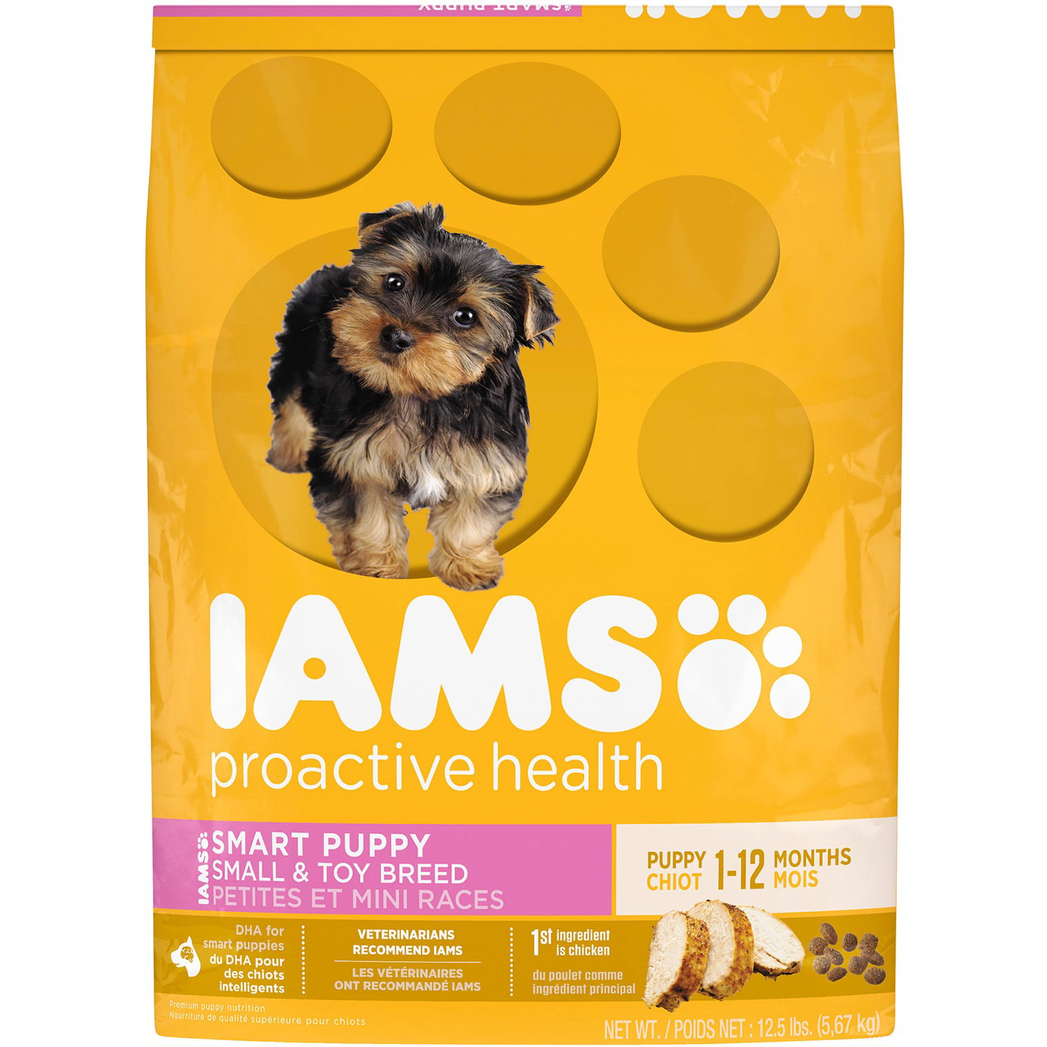 Iams Proactive Health Smart Puppy Small & Toy Breed - Walmart.com