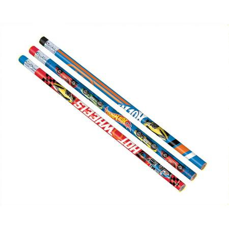 Hot Wheels Wild Racer Pencils (12 Count) - Party Supplies
