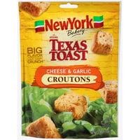 (2 Pack) New York Brand The Original Texas Toast Cheese & Garlic Croutons, 5 oz