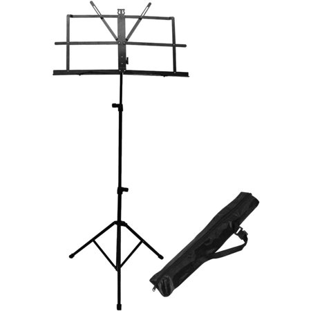 ChromaCast Folding Music Stand with Carry Bag ()