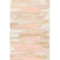 Blush Rhizome Pink Abstract Art Print Wall Art By Ann Marie Coolick