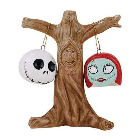 NBX JACK AND SALLY HEADS SALT AND PEPPER - Pepper Head