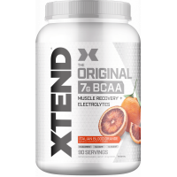 Xtend Original BCAA Powder, Branched Chain Amino Acids, Sugar Free Post Workout Muscle Recovery Drink with Amino Acids, 7g BCAAs for Men & Women, Italian Blood Orange, 90 Servings
