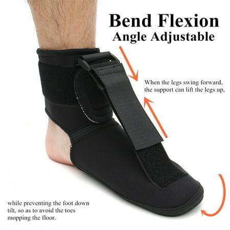 S M L Sponge Nylon Plantar Fasciitis Night Splint Dorsal Foot Brace