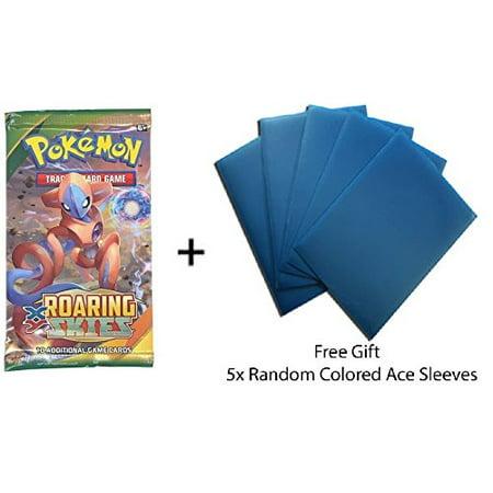 Pokemon Tcg Pokemon Roaring Skies Booster Pack Free Gift Free 5x