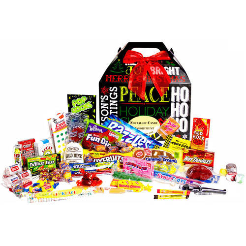 Candy Crate Holiday Chalkboard Retro Candy Box