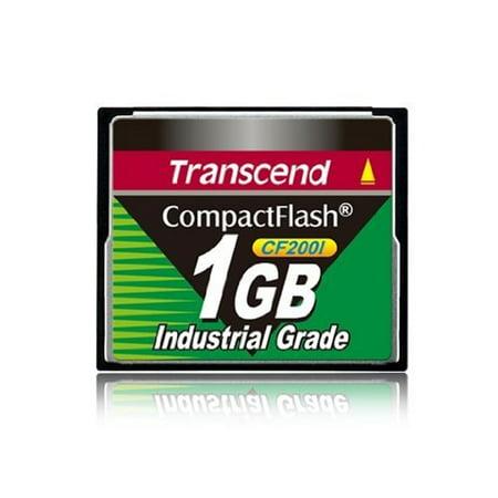 TRANSCEND TS1GCF200I 1GB INDUSTRIAL CF CARD (Industrial Grade Cf Card)