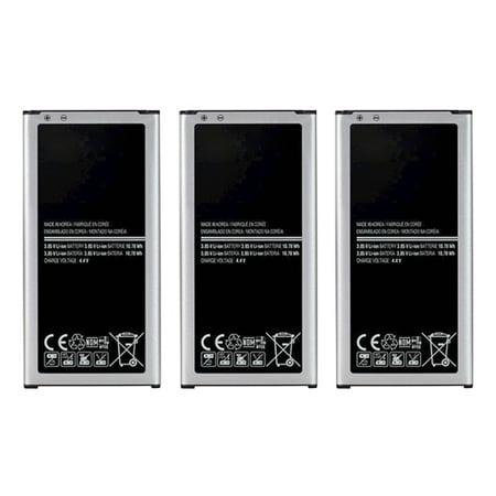Replacement Battery 2800mAh, Lithium Ion, 3.8v For Samsung EB-BG900BBU Models 3 Pack