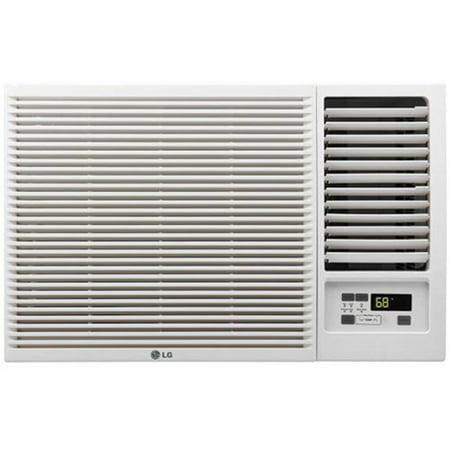 Lg Lw1216hr 12 000 Btu 230V Window Mounted Air Conditioner With 11 200 Btu Supplemental Heat Function