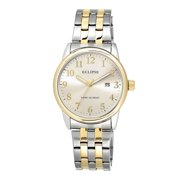 Men's Round Champagne Watch