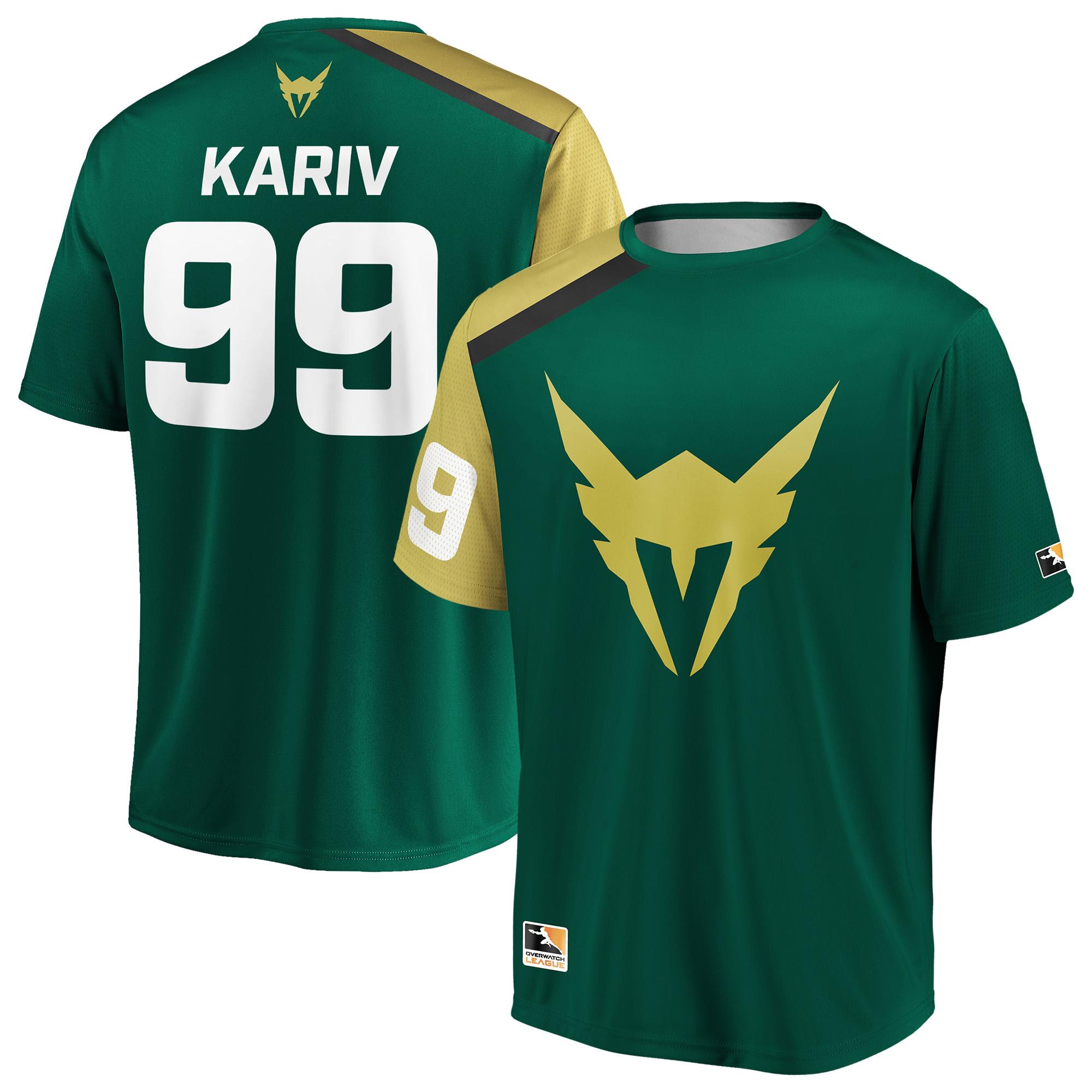 KariV Los Angeles Valiant Overwatch League Replica Home Jersey - Green