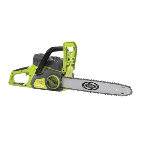 Sun Joe iON16CS Cordless Chain Saw , 16 inch  - 40V , Brushless Motor (Core Tool Only)