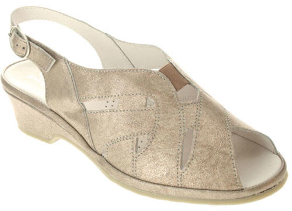 Women's Spring Step Sandals SILVER 35 M EU 5 M