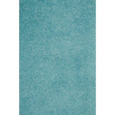 Home Queen Solid Color Teal 7'X9' - Area Rug ()