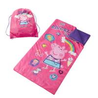 Kids Character Slumber Bag & Sling Bag Sets
