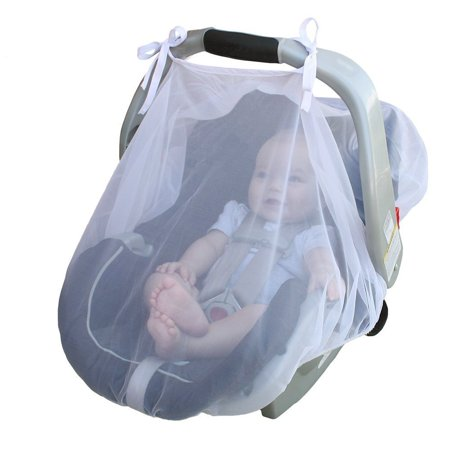 Codream Ultra dense mesh baby carriage cover mosquito breathable cool encrypted soft baby car cover Bug Insect Netting Infant Carriers Car Seats Cover Cradles Material: ultra dense mesh yarn + cottonWeight: 55gSize80*110cmPacking: pp bagCan protect against bugs, bees, mosquitos, flying insects;More breathable, soft, and lightweight than most baby car seat covers;This insect net comes with an elasticized deging to hold it in palce and provide a bigger adjustability.