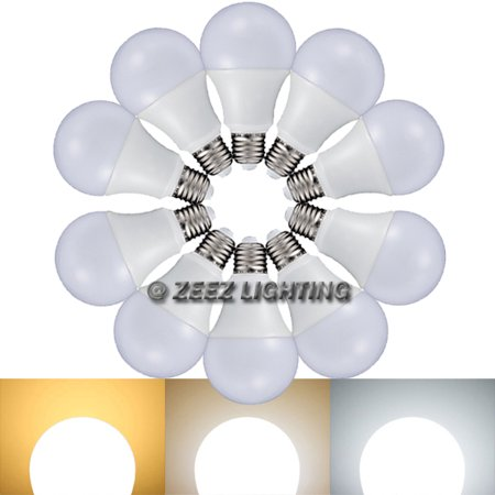 5W LED A-Shaped Light Bulb 40-Watt Equivalent - Warm White / Natural White / Cool White (Pack of (5w Paging Horn)