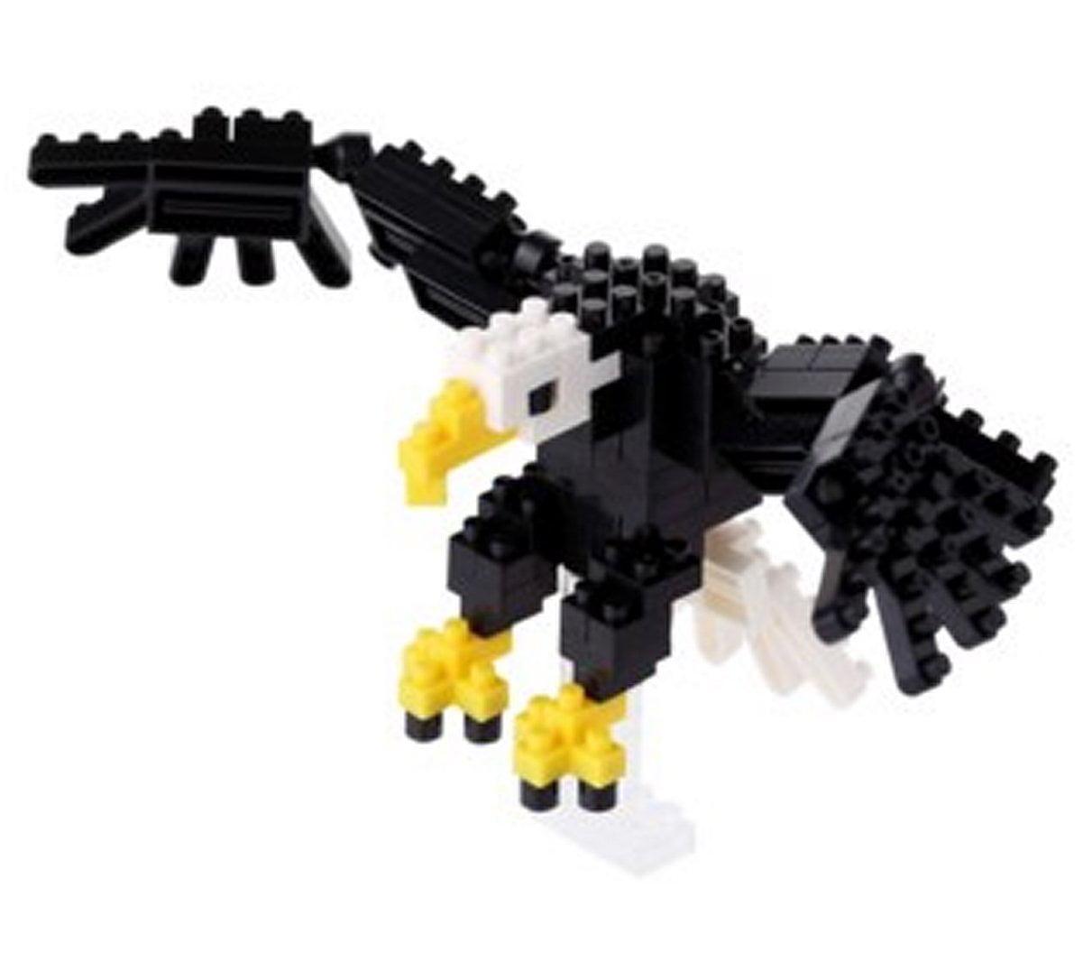 Nanoblock Bald Eagle Building Kit by