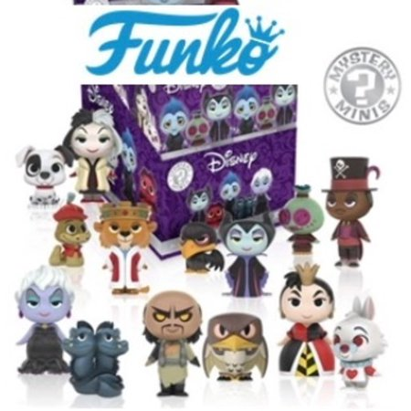 FUNKO MYSTERY MINIS: DISNEY - VILLAINS (12 PC BLIND BOXES QTY 1) (Female Disney Villains)