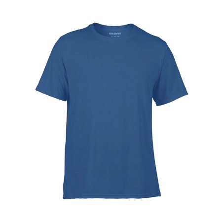 Classic Fit Mens Small Adult Performance Short Sleeve T-Shirt, Royal Blue
