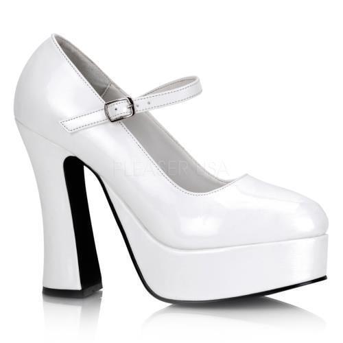 DOL50 W Demonia Platform Sandals & Shoes Womens WHITE Size: 10 by