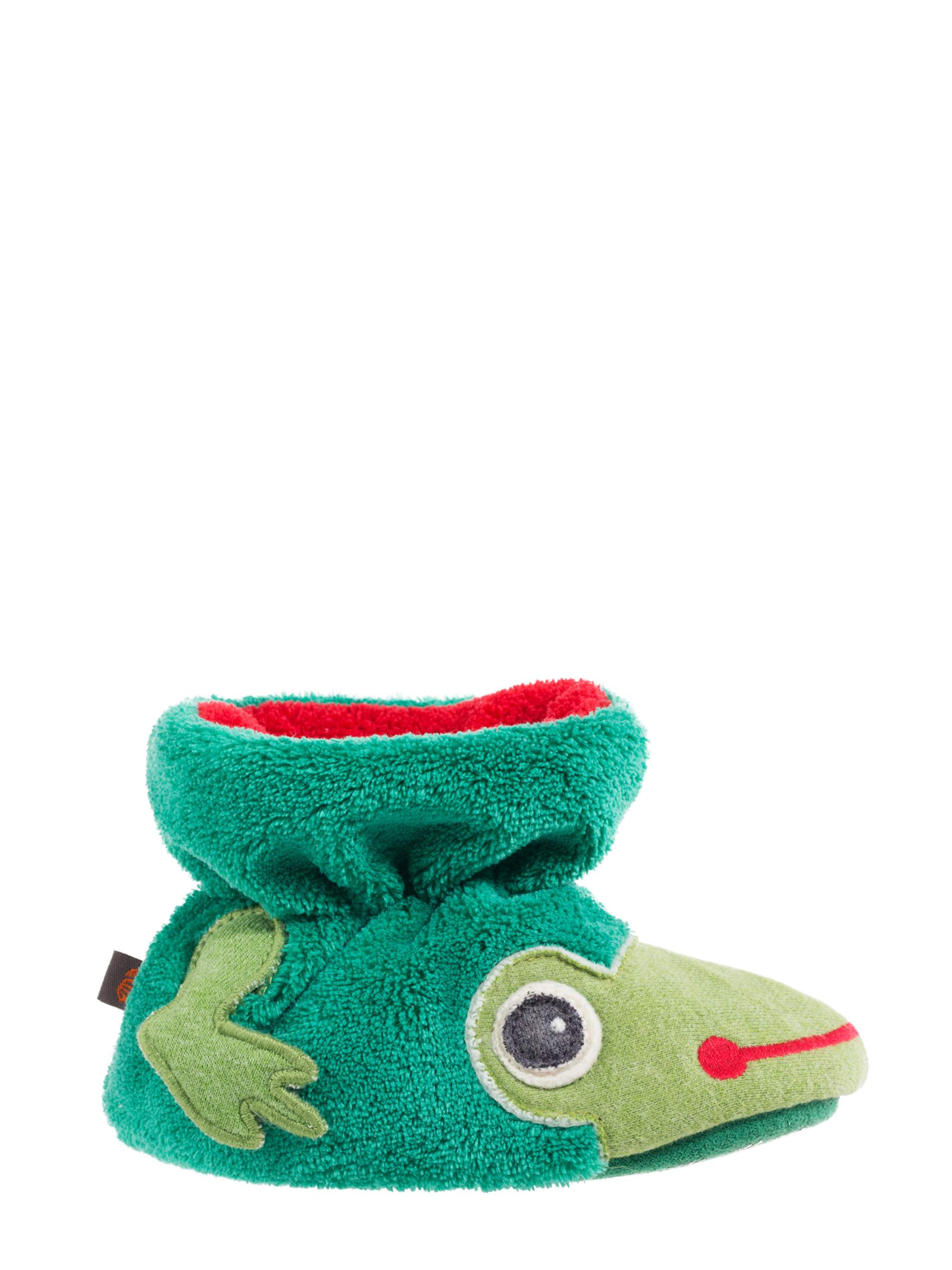 Acorn Kids Toddler Easy Critter Frog Bootie
