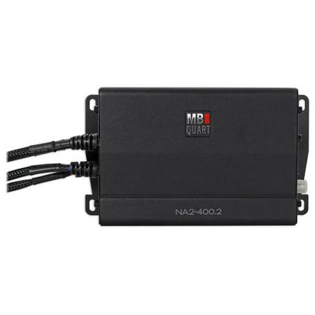 MB QUART NA2-400.2 400w 2-Channel Amplifier Amp For Polaris/ATV/UTV/RZR/CART 400w 2 Channel Amp