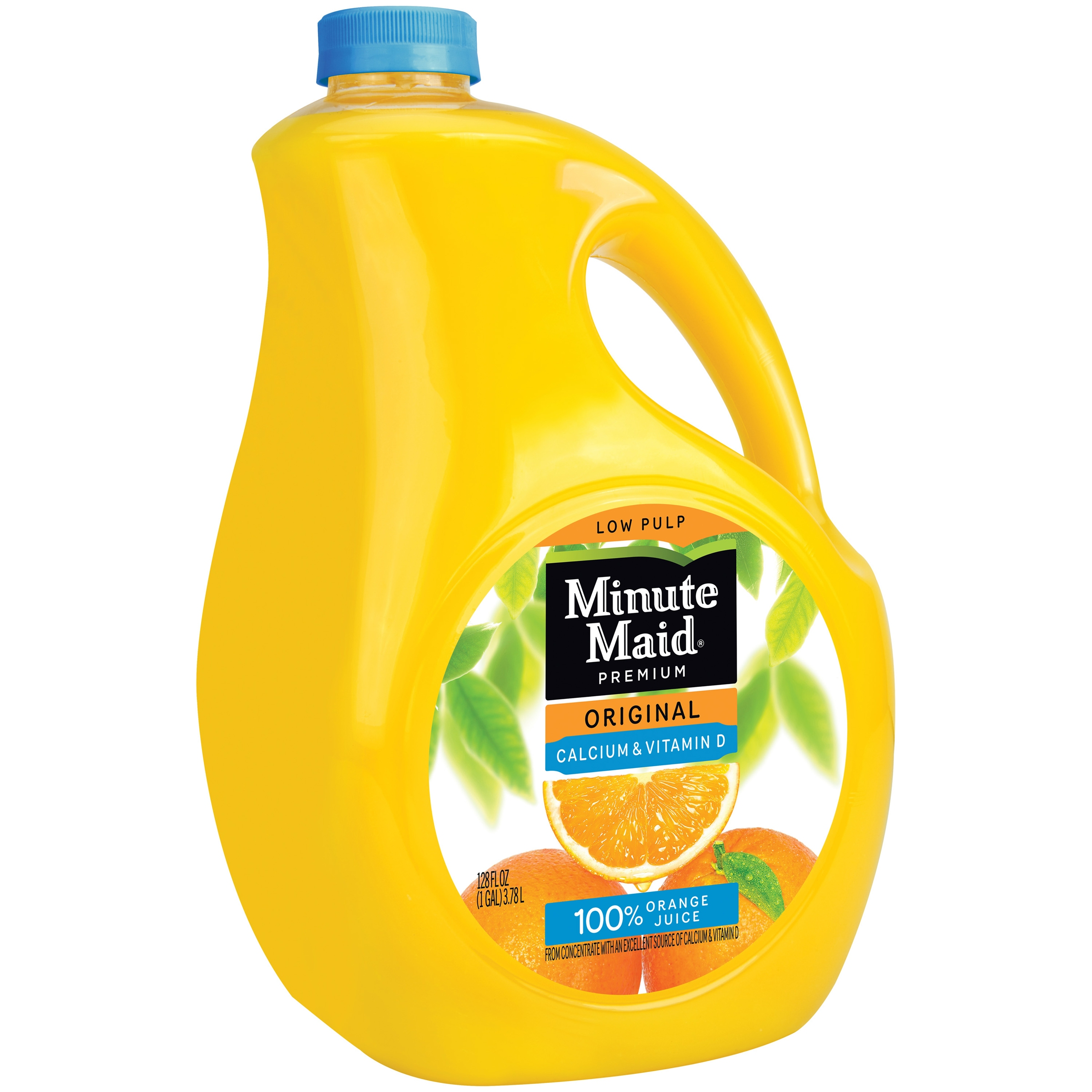 Minute Maid® Premium Original 100% Orange Juice Calcium & Vitamin D added 128 fl. oz. Jug