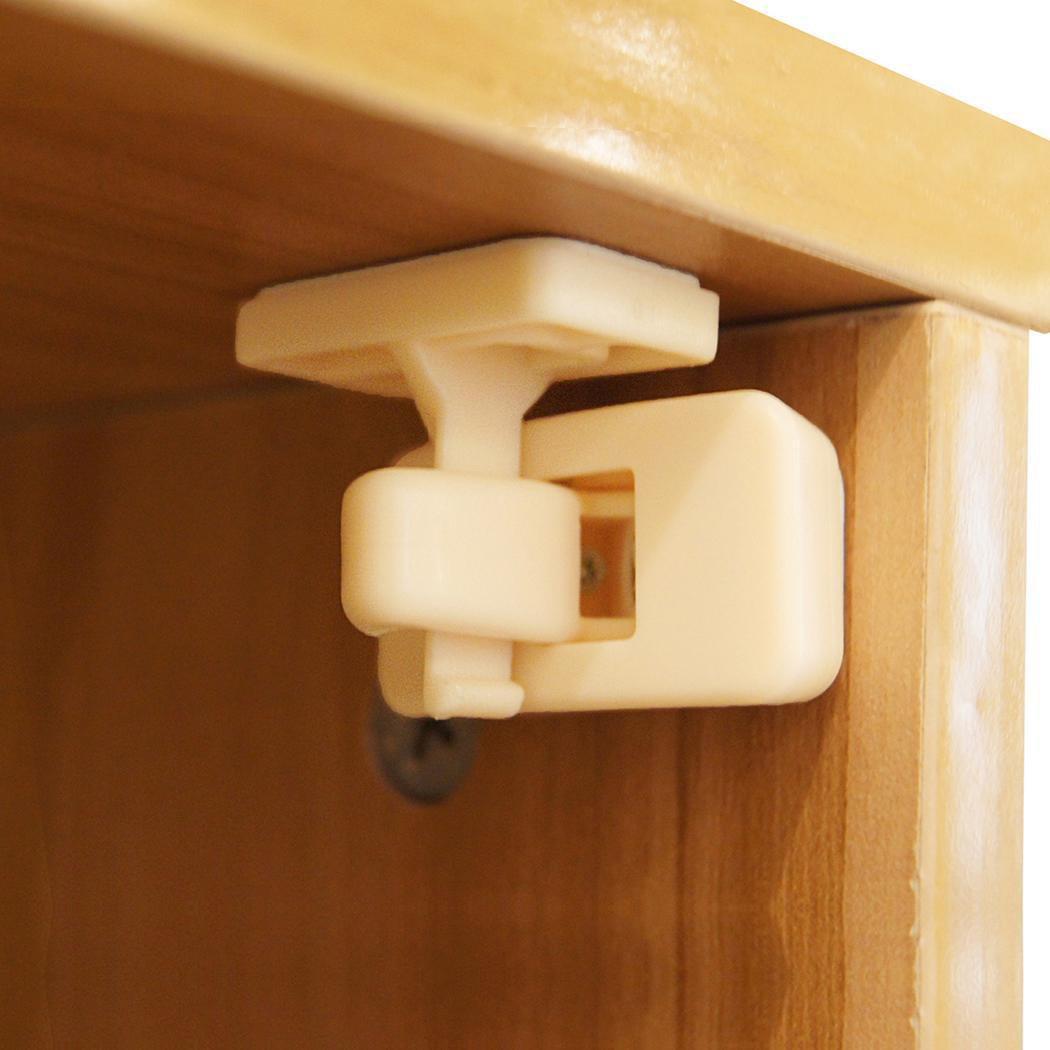Christmas Gifts 10pcs Magnetic Cabinet Locks Safety Baby Set 8 Locks 2 Keys Child Proof Kit BTC by