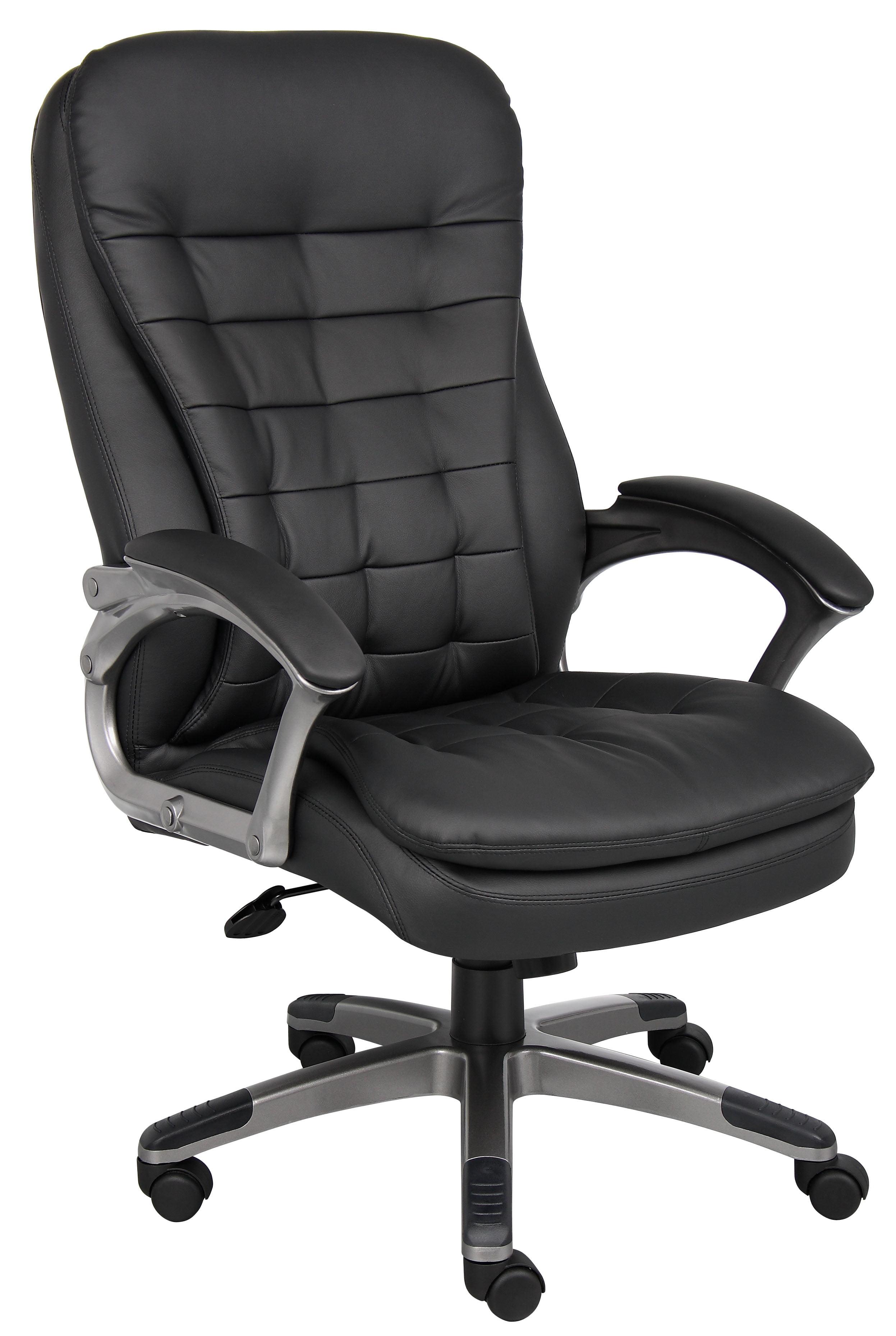 Boss Office U0026 Home Black High Back Executive Chair   Walmart.com