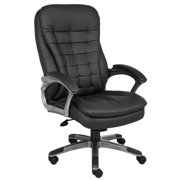 Boss Office & Home Black High-Back Executive Chair
